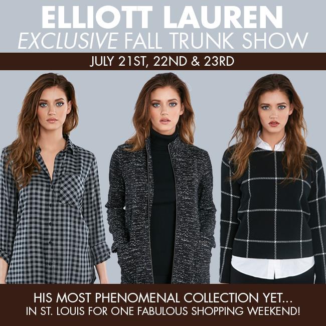 Elliott Lauren Exclusive Fall Trunk Show