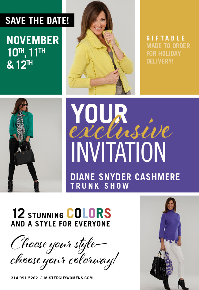 Diane Snyder Cashmere Trunk Show