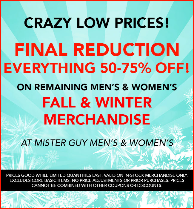 Final Reduction!