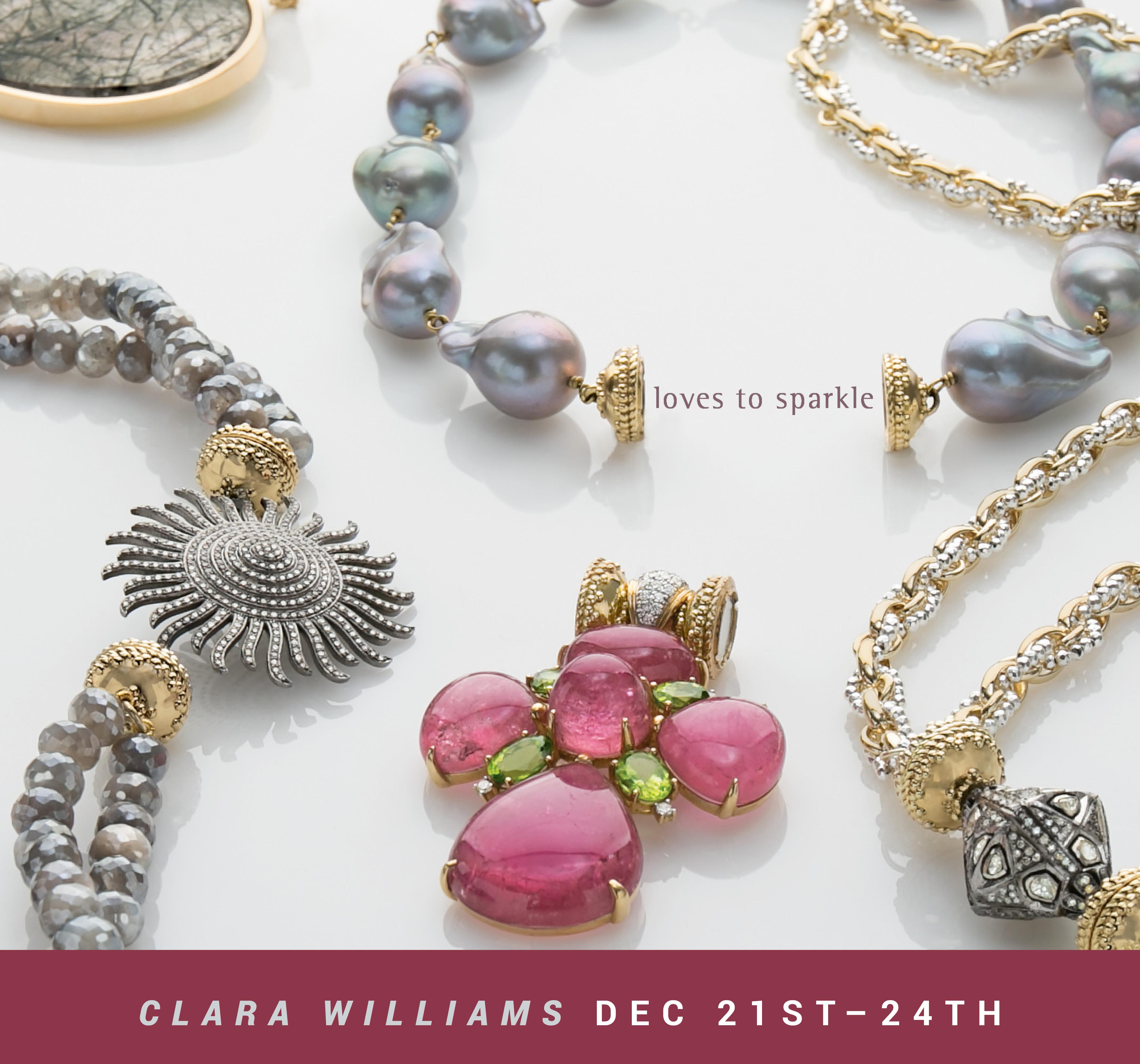 Clara Williams Holiday Trunk Show