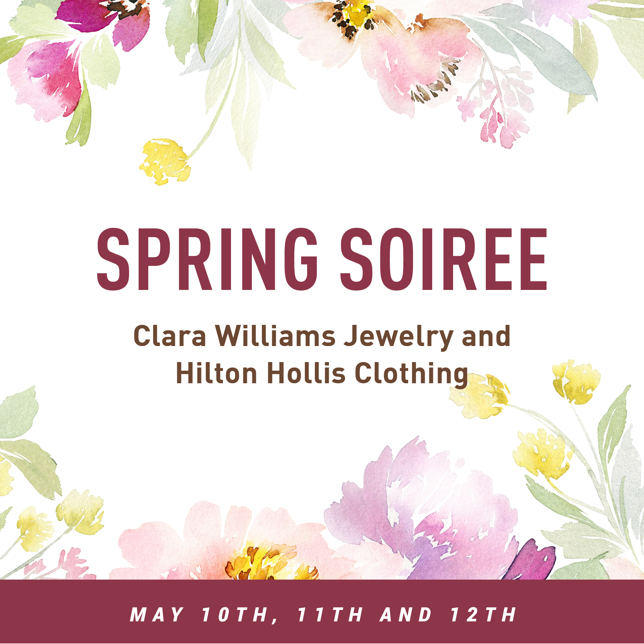 Join us for a Spring Soiree!
