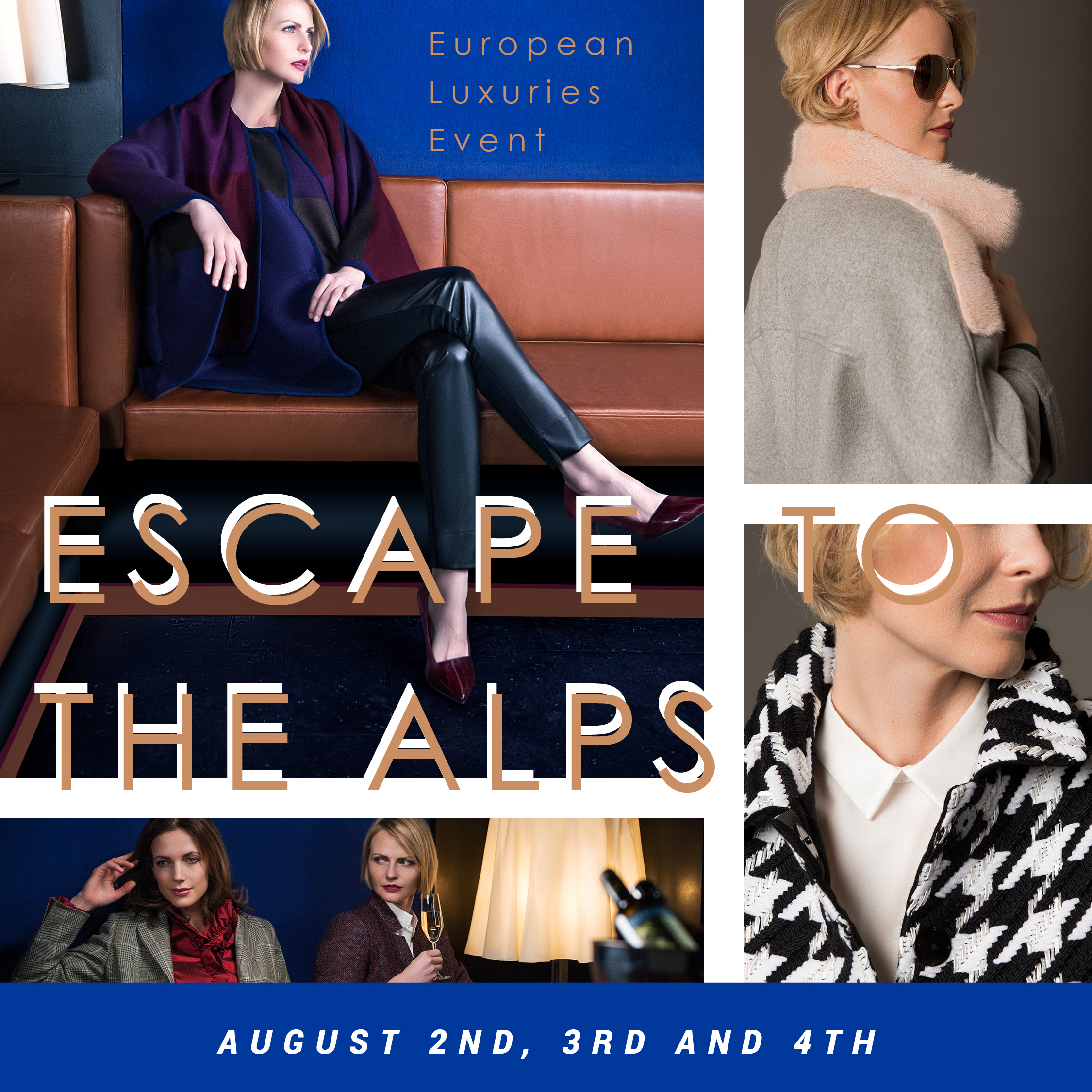 European Luxuries Event: Escape to the Alps | Featuring Algo of Switzerland