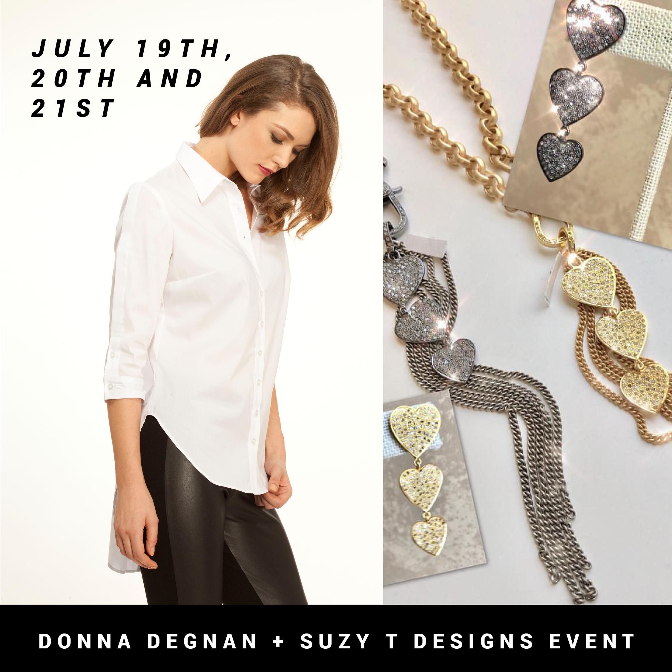 Donna Degnan and Suzy T Designs Event