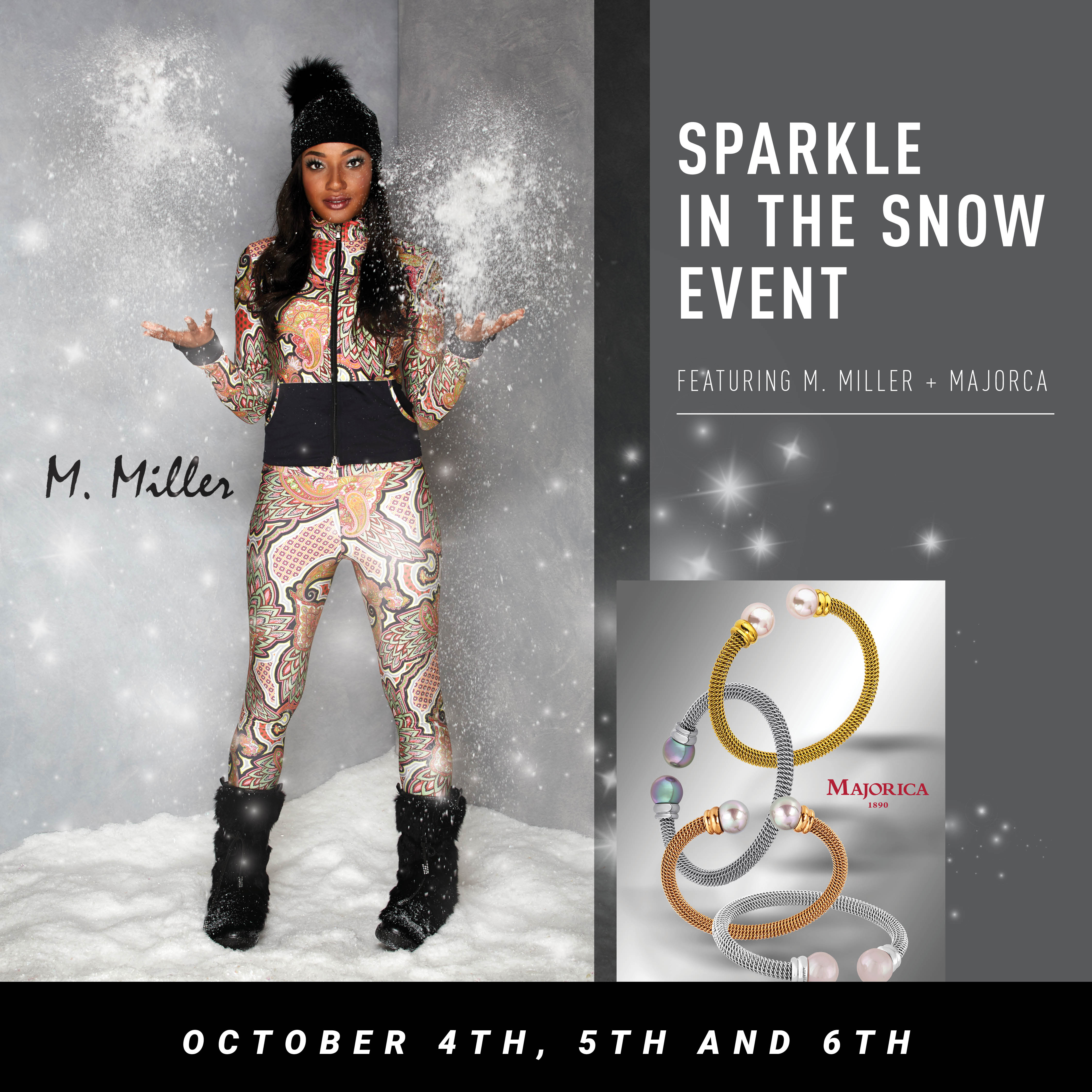 M. Miller + Majorica Fall Trunk Show October 4th, 5th and 6th