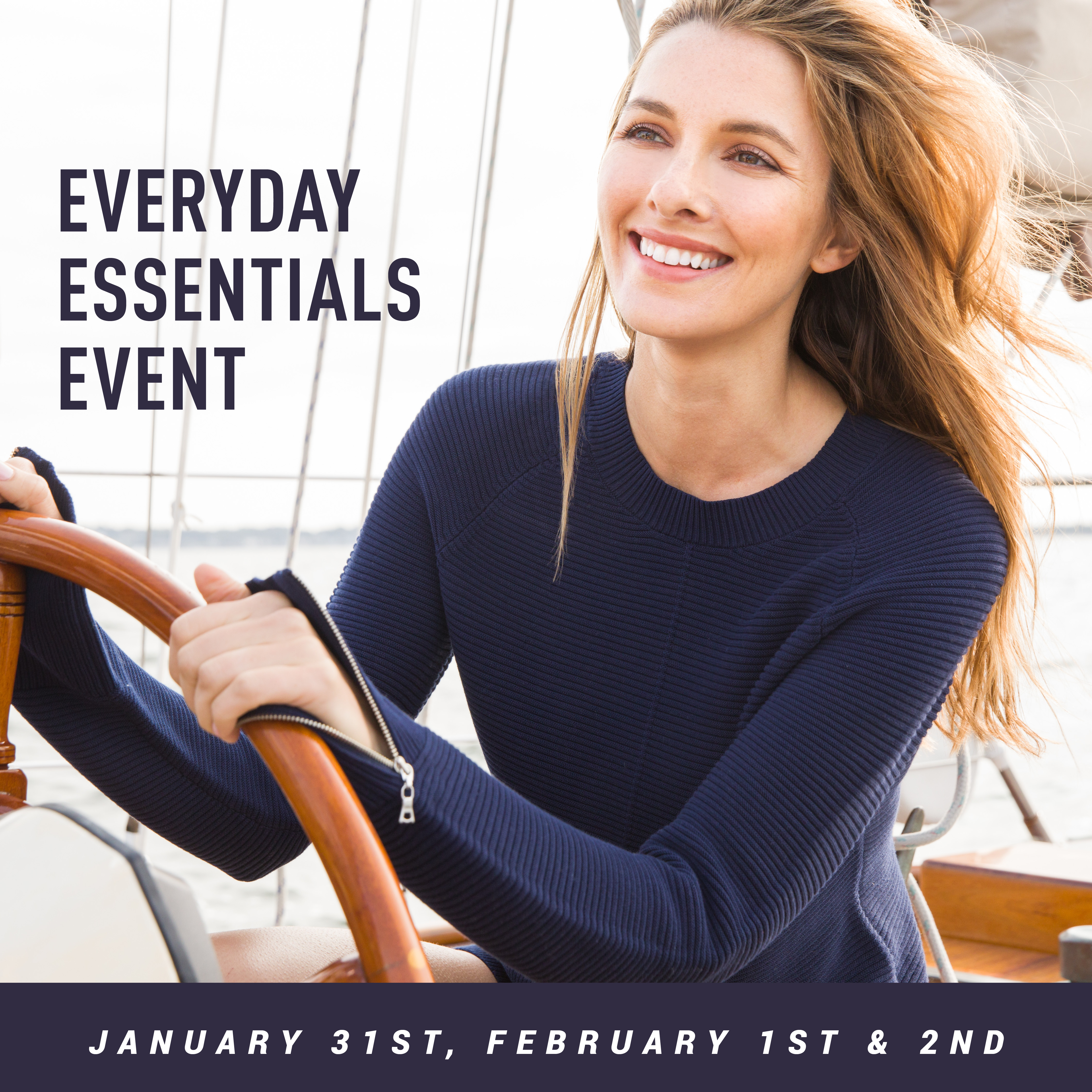 The Everyday Essentials Event