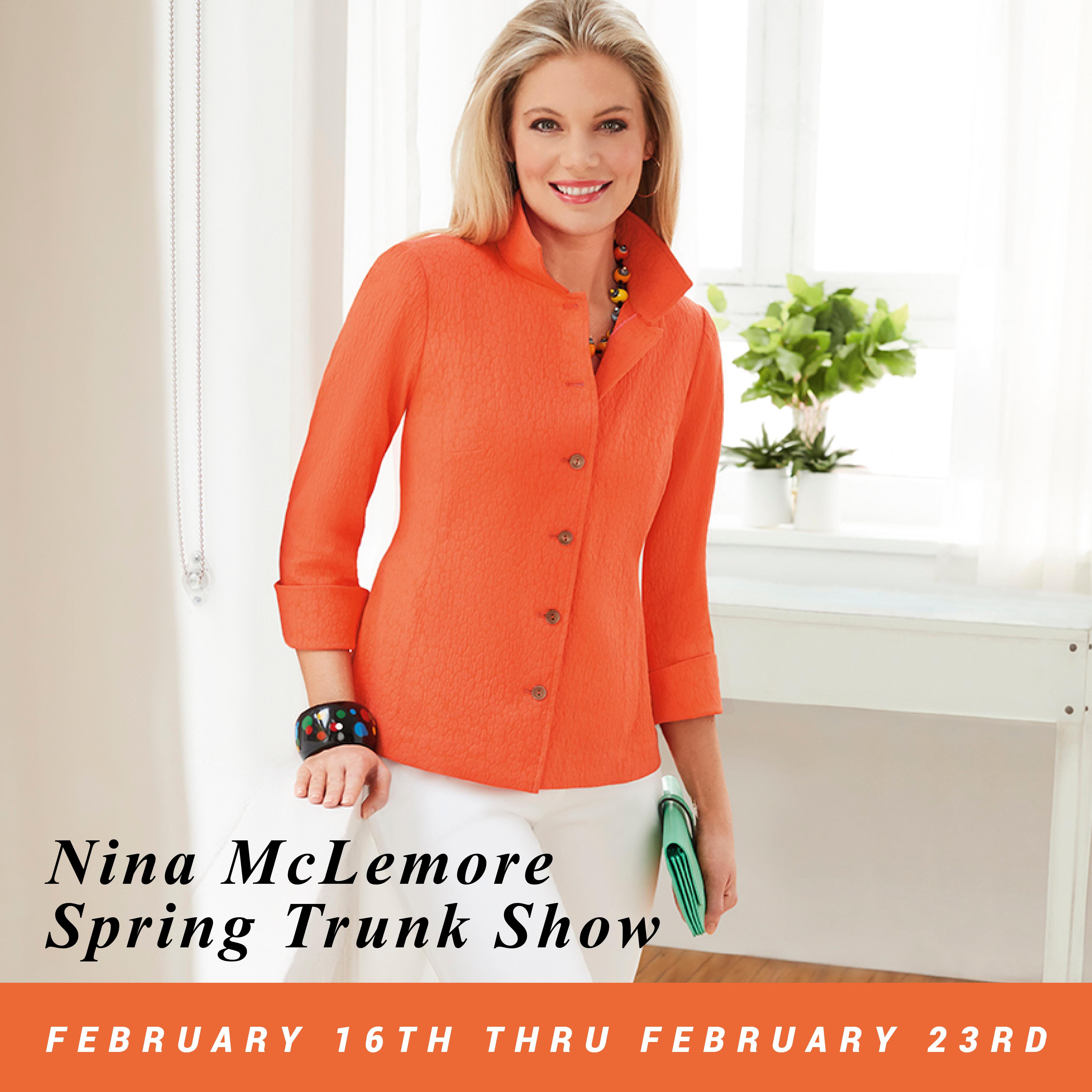 Nina McLemore Spring Trunk Show