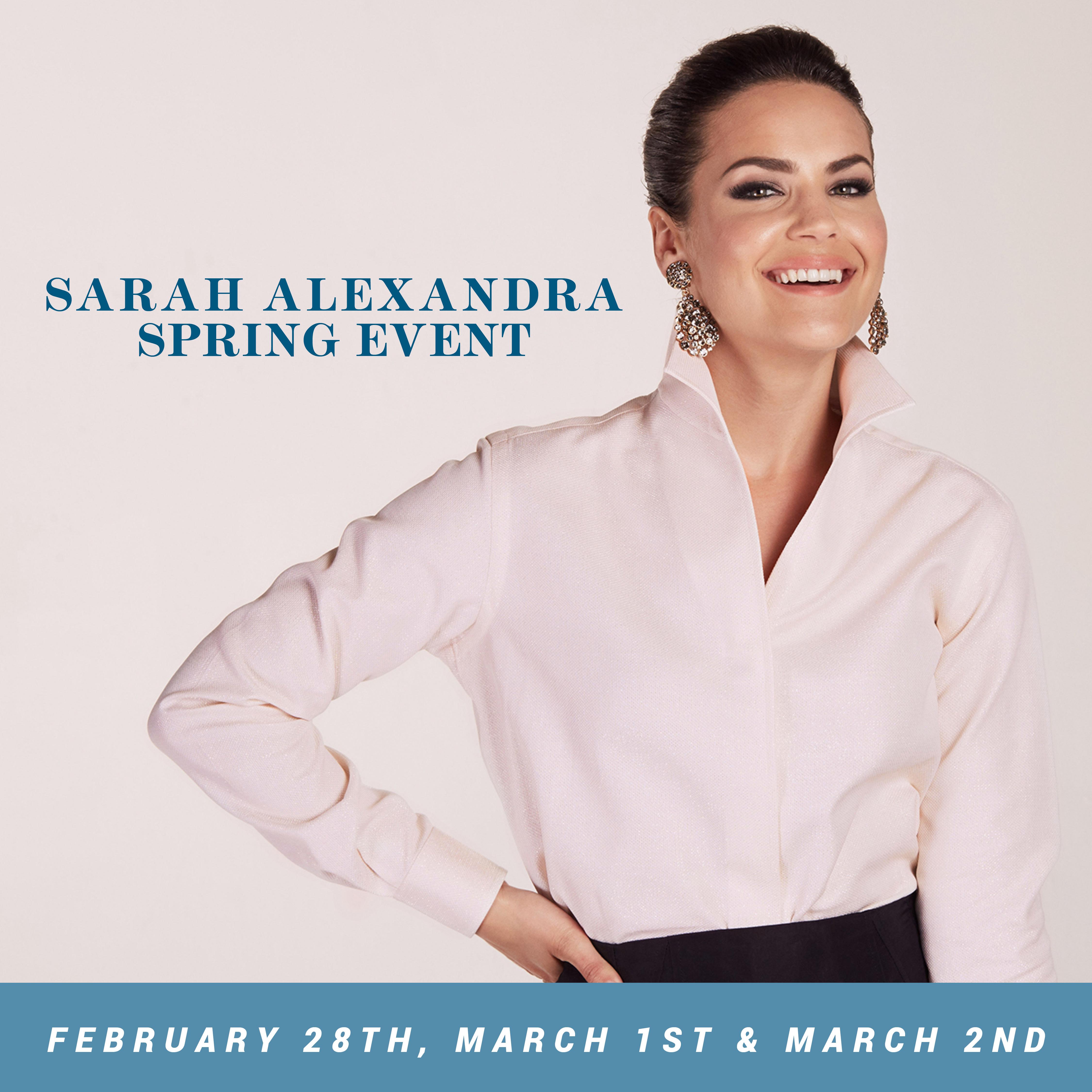 Sarah Alexandra Spring Event