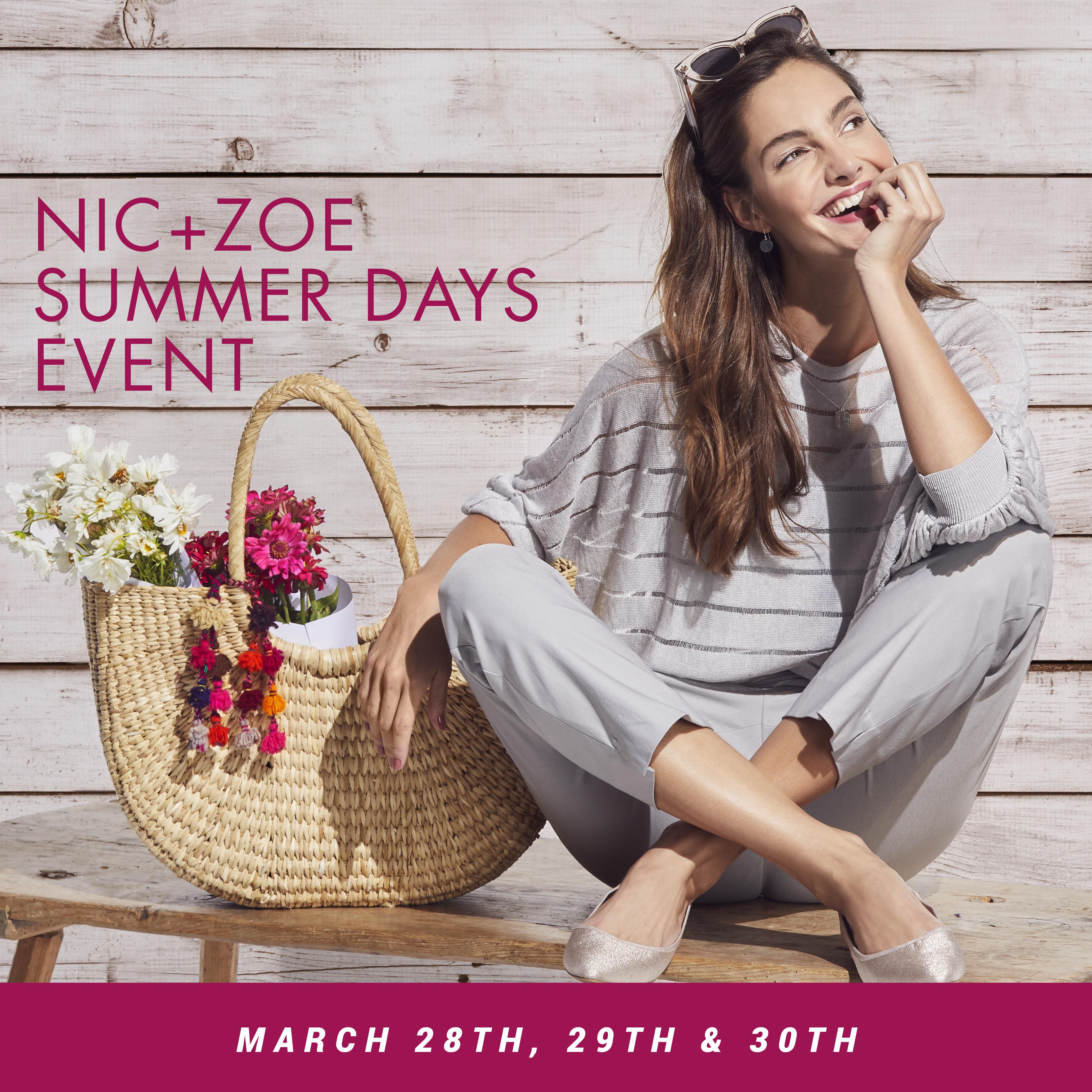 NIC + ZOE Summer Days Event
