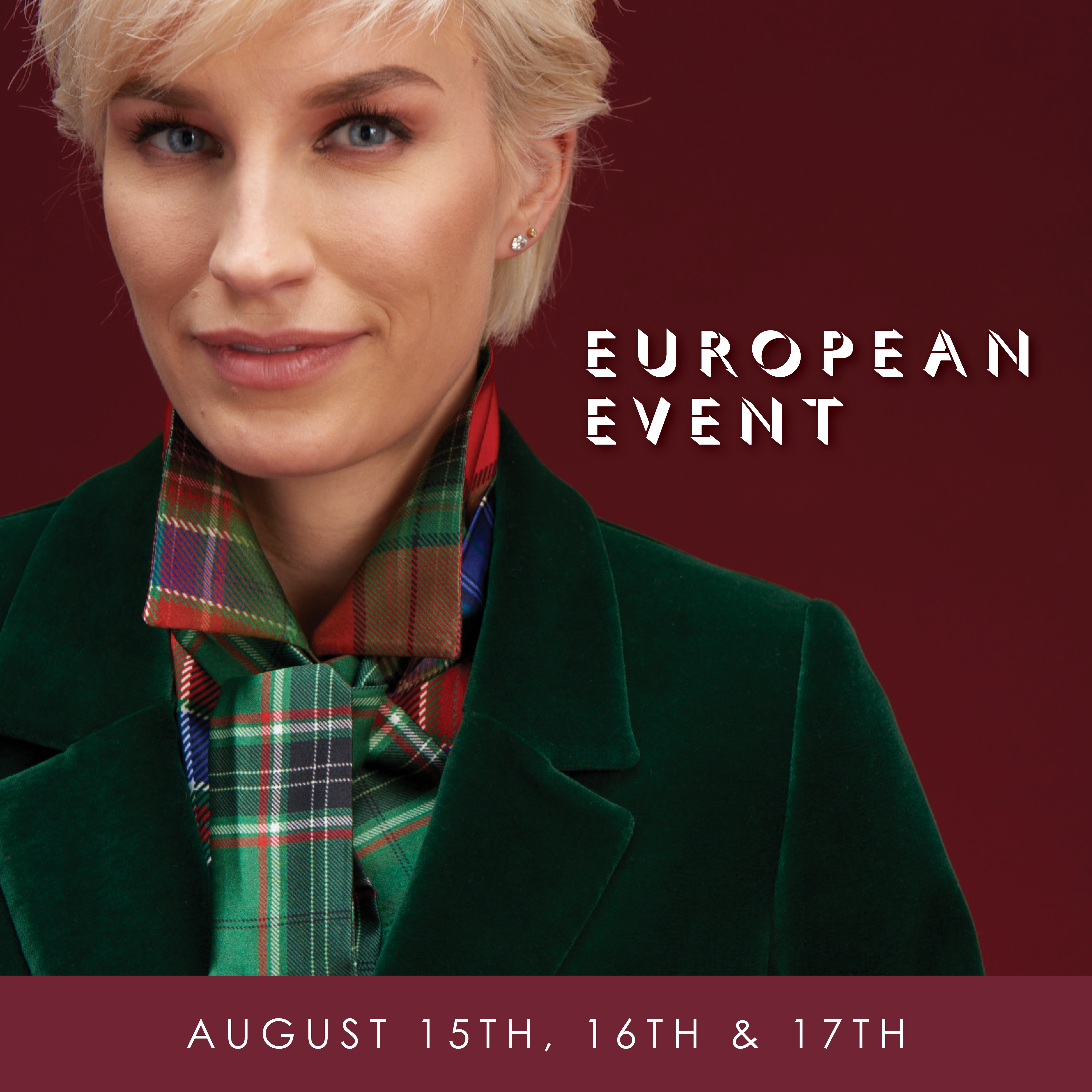 European Event featuring Algo of Switzerland