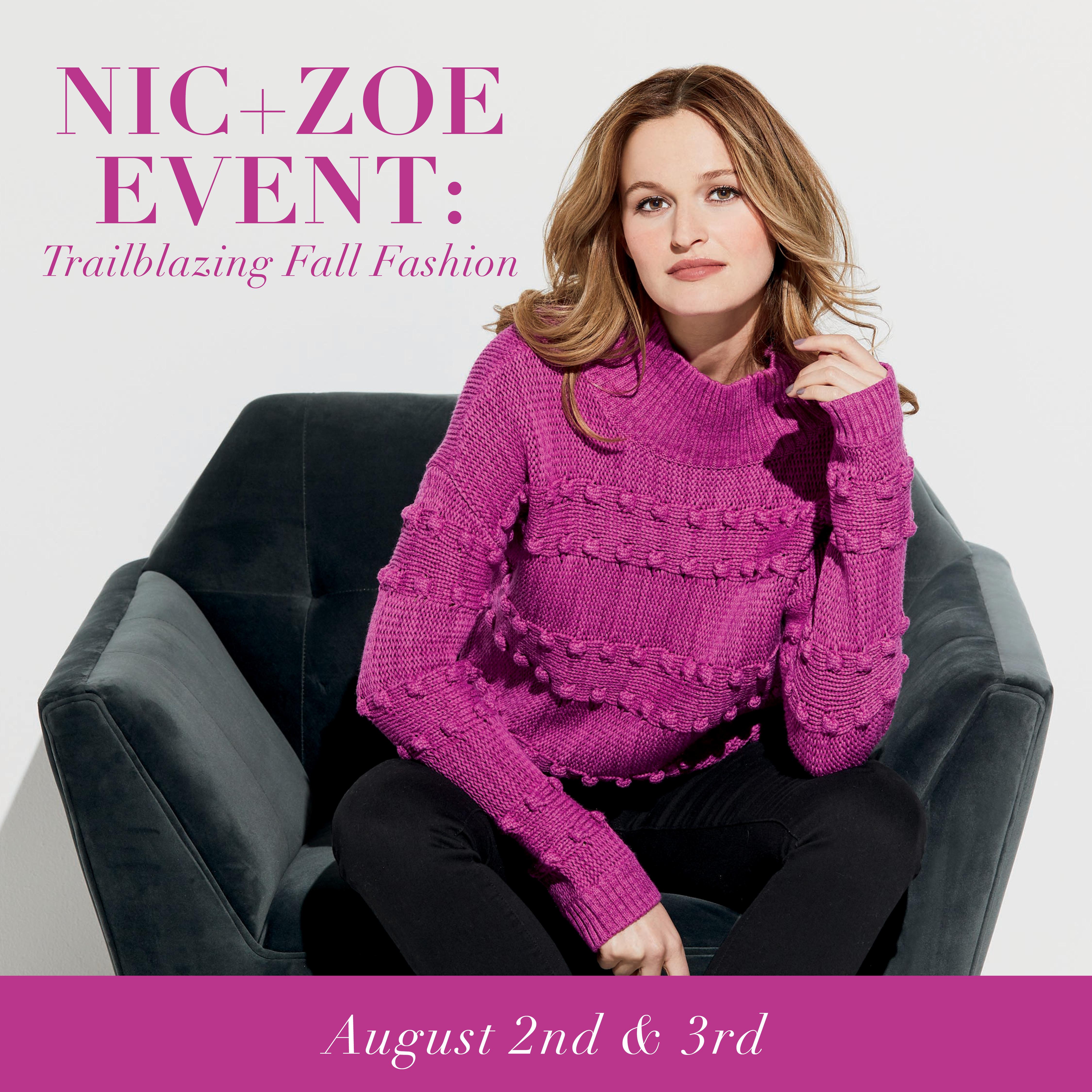 NIC + ZOE Fall Event