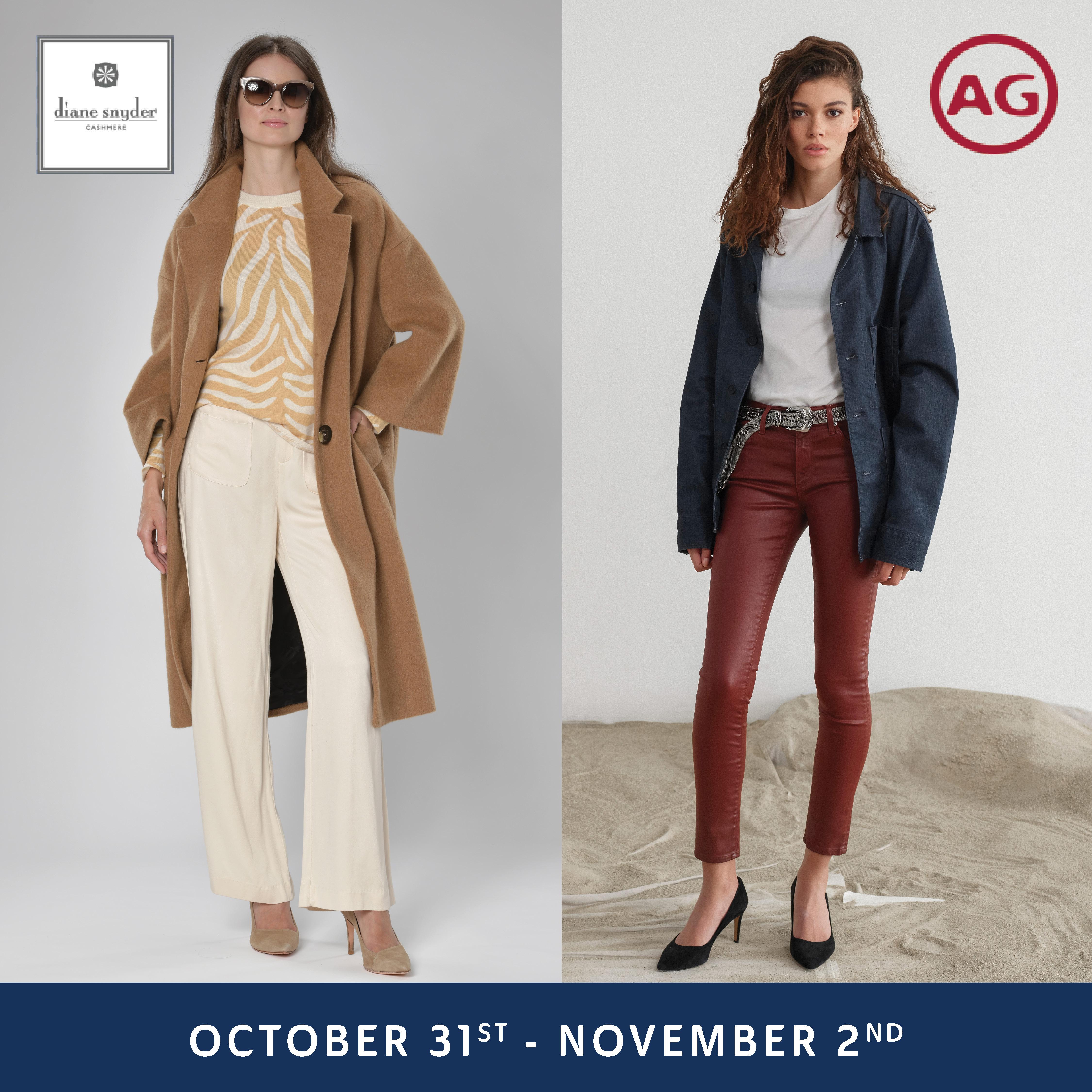 Diane Snyder Cashmere + AG Jeans