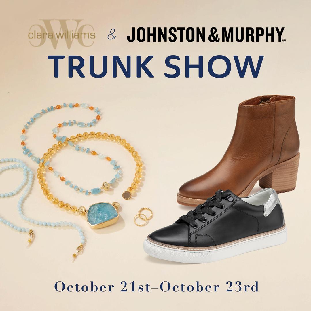 Clara Williams and Johnston & Murphy Trunk Show